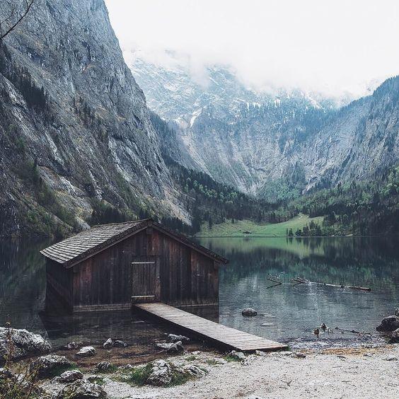 That world famous little-cabin-on-the-lake.  #EnjoyGermanNature #GermanyTourism by lebackpacker