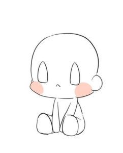 Manga Chibi Girl Chibi Girl Drawings Anime Drawings Tutorials Easy Chibi Drawings