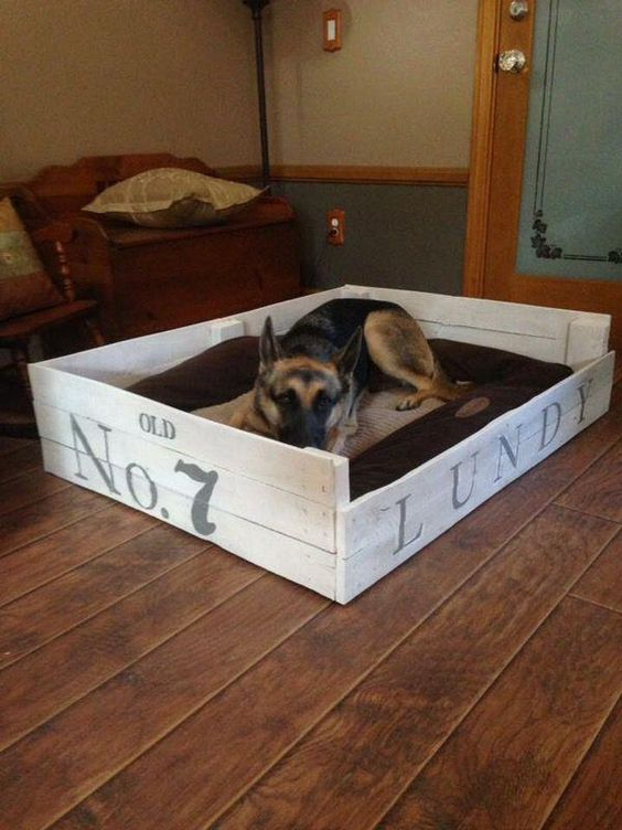 Build Your Own Dog Bed With A