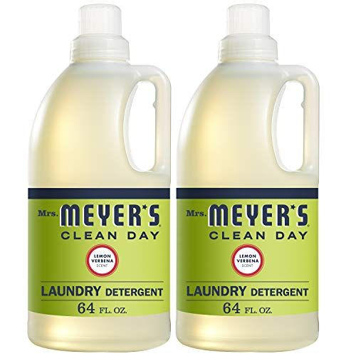 Amazon Subscribe And Save Deal Mrs Meyer S Laundry Detergent Lemon Verbena 64 Fl Oz 2 Ct Laundry Detergent Scented Laundry Detergent Lemon Verbena