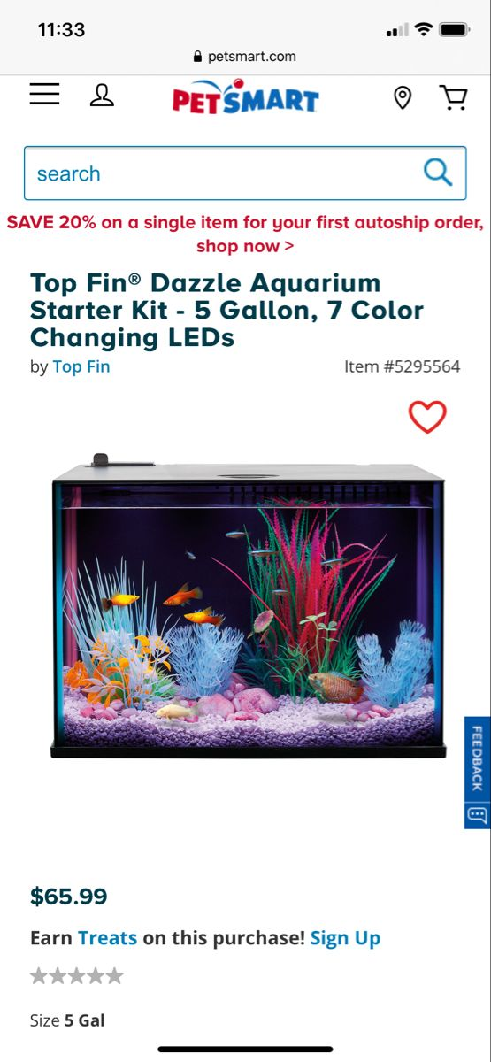 You Need A 5 10 Gallon Tank In 2020 Pet Spray Fish Supplies Gallon