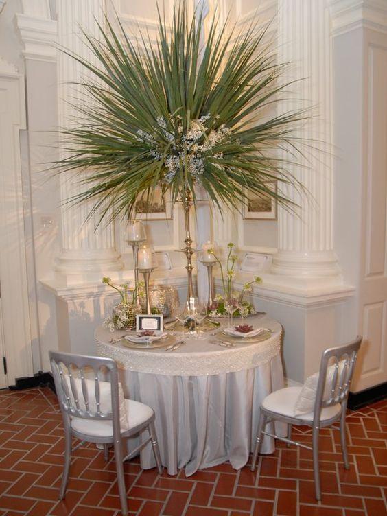 Silver Shantung Table Linen3