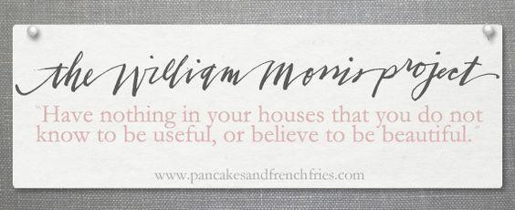 william morris - this is my motto