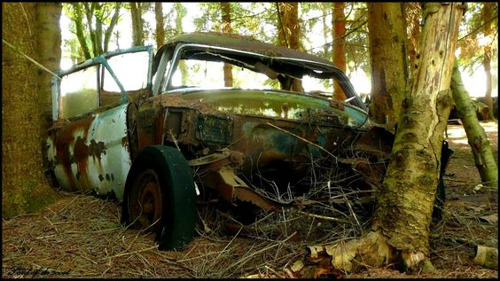 *Deserted wreck