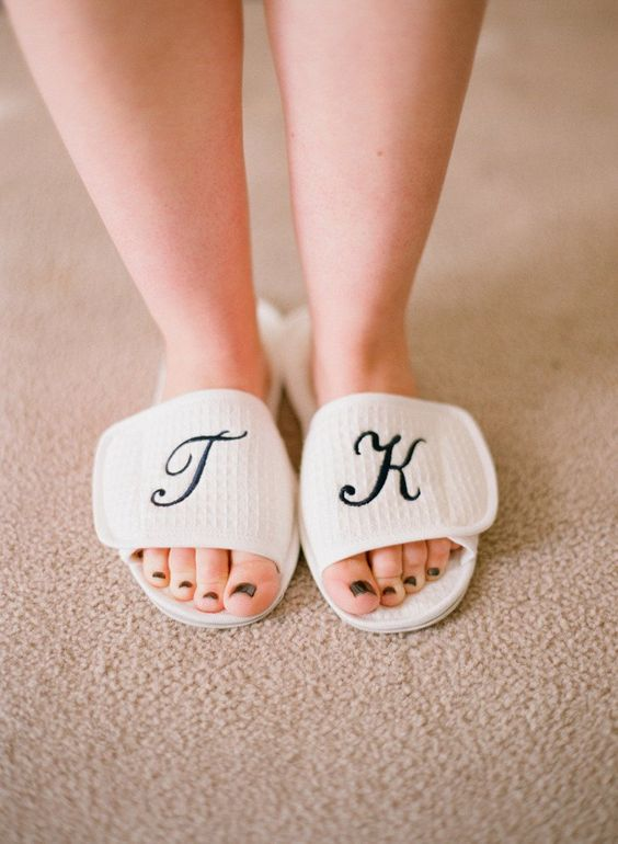 Pin for Later: Hey Brides! Make Sure You Take These 26 Wedding Day Beauty Photos The Pedicure Put your best foot forward on your big day by capturing your perfectly polished toes. Photo by Elizabeth Messina via Style Me Pretty