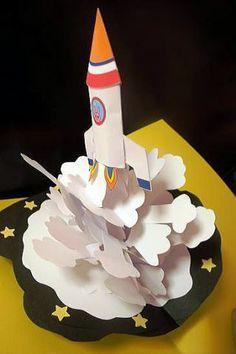 rocket pop up book - Recherche Google