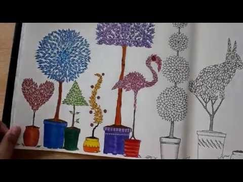 How I Color Topiary Part 2