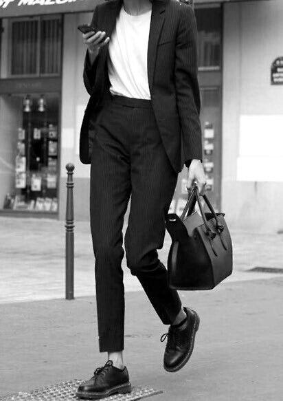Dr Martens 1461 Shoes (Smooth Black)