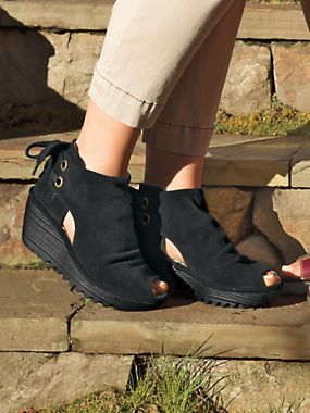 Women's Fly London Yama Wedge Sandals | Booties | Sahalie