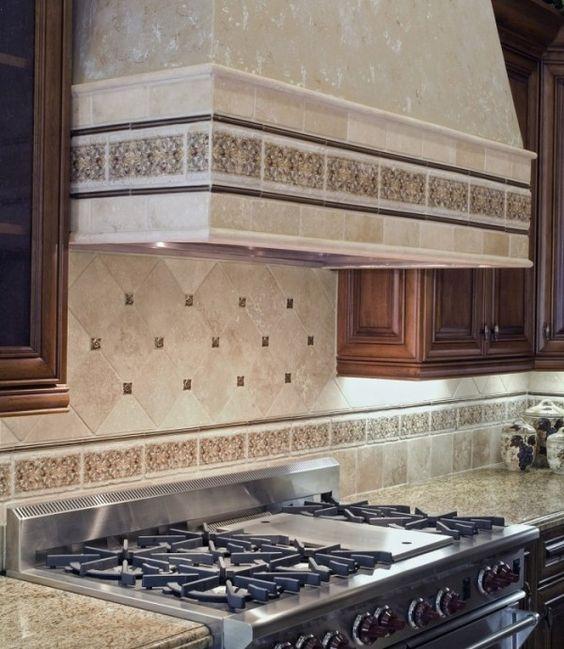 Kitchen Backsplash Listello