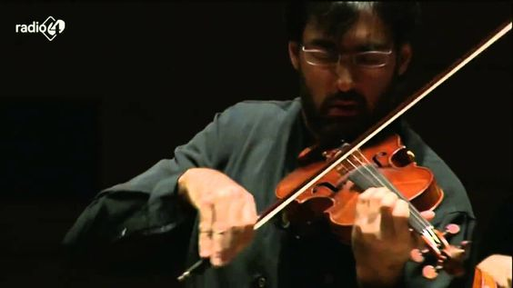 Leonidas Kavakos, :violinist, The Violin Concerto in D major, Op. 35, By Pyotr Ilyich Tchaikovsky Mov II Canzonetta: Andante (G minor)    Royal Concertgebouw Orchestra                                                                                                                                                           Karel Mark Chichon, Orchestra conductor                                          From Amsterdam Holland,