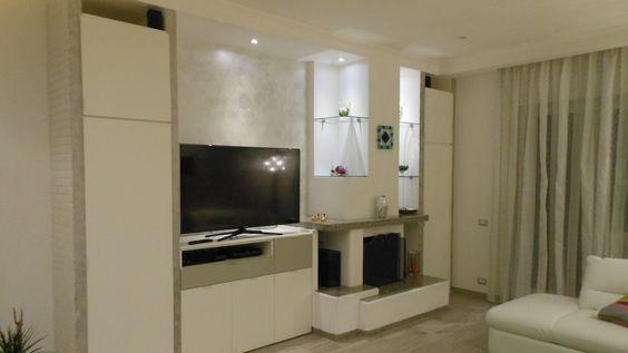 Pittura decorativa per interni cangiante effetto sabbia for Ambienti moderni interni