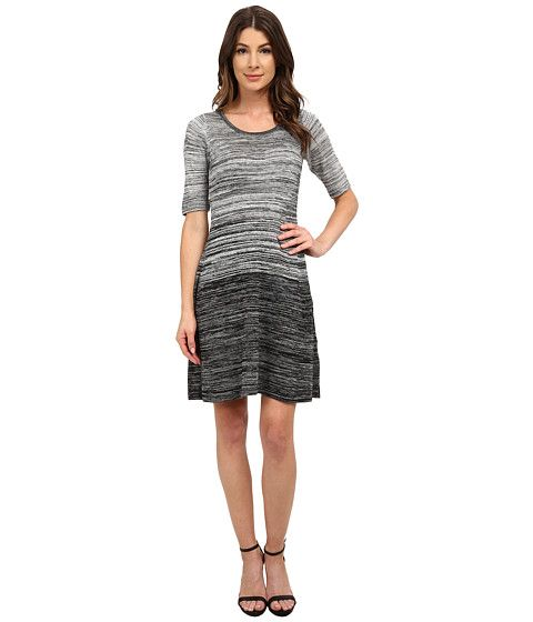 London Times Elbow Sleeve Marled A-Line Sweater Dress | Stitch Fix ...
