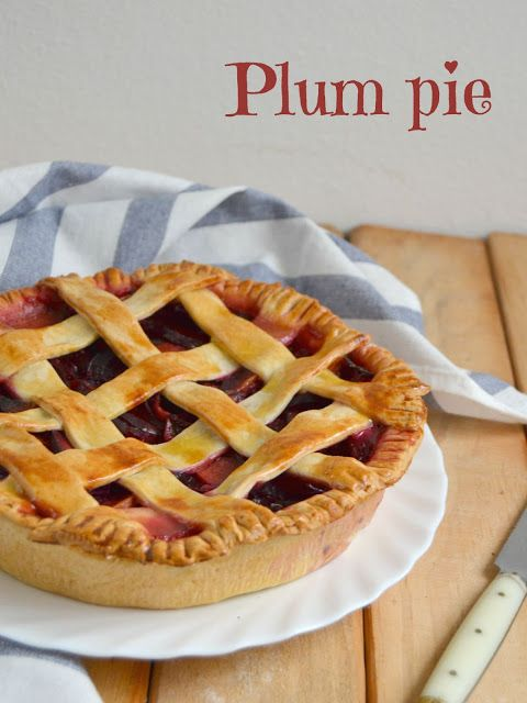 Cuuking! Recetas de cocina: Pastel americano de ciruelas. Plum pie