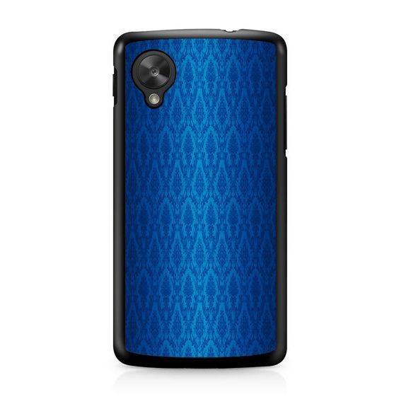 Blue Damask Nexus 5 Case