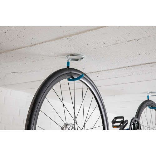 1 Bike Wall And Ceiling Rack In 2020 Bike Wall Mount Bike Storage Bike Rack