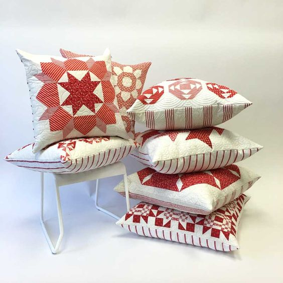 CT-Pile-of-Red-&-White-Pillows:
