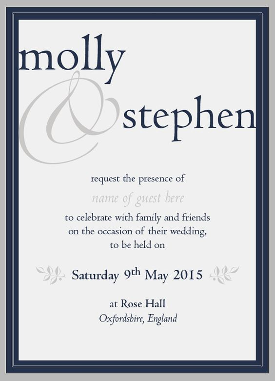 Create beautiful wedding invitations using adobe indesign for Wedding invitation template for indesign