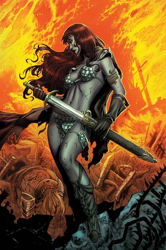 Dynamite® Red Sonja: Vulture's Circle #1 …