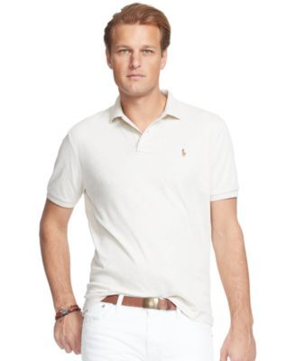 POLO RALPH LAUREN Polo Ralph Lauren Men's Big and Tall Pima Soft-Touch Polo Shirt. #poloralphlauren #cloth # polos