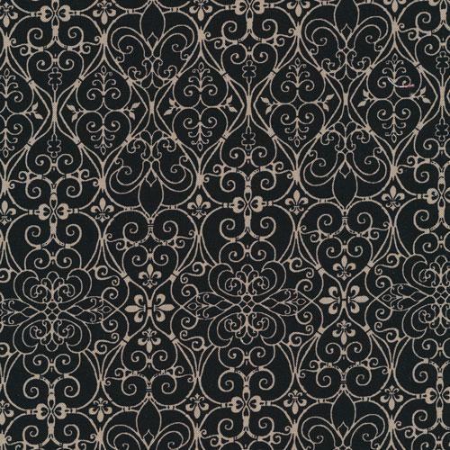Fabri-Quilt Goanna Walkabout Orange Medallion 100/% cotton Fabric by the yard