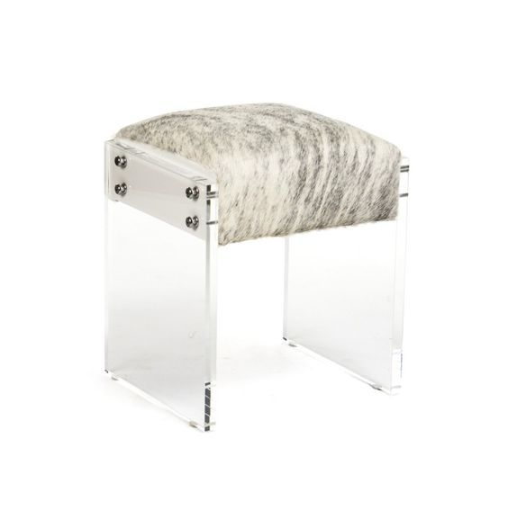 Stockard Lucite Stool   Tonic Home