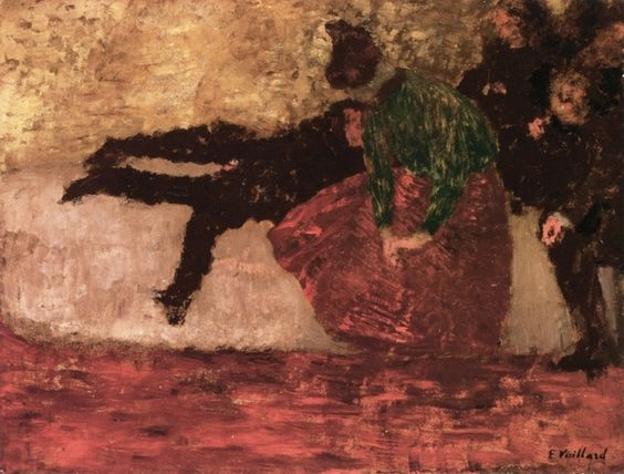 After the Ball by Edouard Vuillard