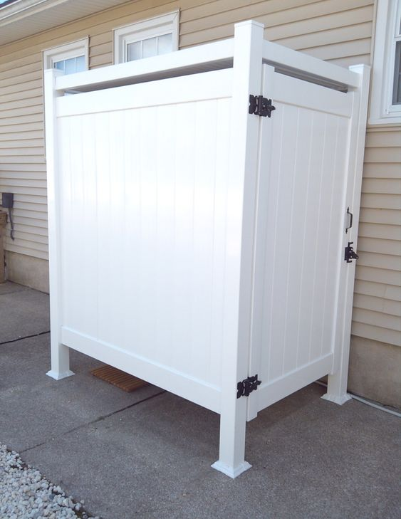 s of Outdoor Shower Enclosures for Outside Showers
