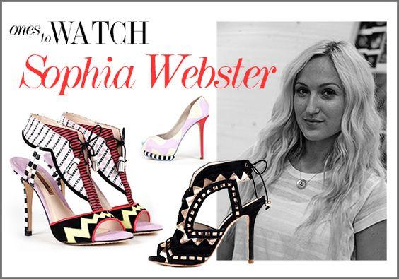 Sophia Webster  ♡♧♡ https://editorialist.com/just-in/news/ones-to-watch-sophia-webster