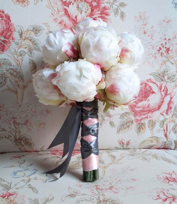 peony wedding bouquet | Peony wedding bouquet, by KateSaidYes on etsy.com