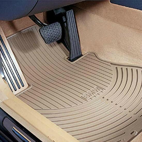 Bmw Oem Beige Rubber Floor Mats Fronts 1997 2003 E39 Sedans Wagons 82550151508 42 00 Floor Mats Ideas Of F In 2020 Rubber Flooring Rubber Floor Mats Floor Mats