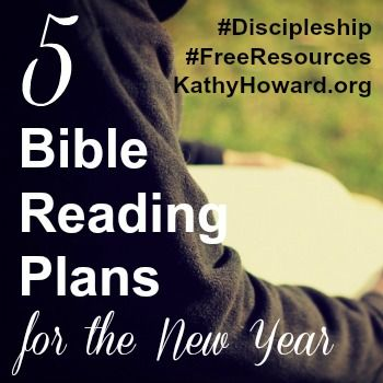 Do you plan to read your Bible regularly in 2016? If so ...