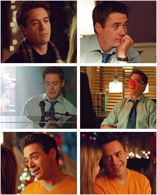 "Robert Downey Jr as Larry Paul in ""Ally McBeal"""