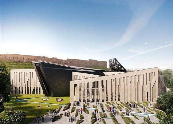 Daniel Libeskind unveils design for Kurdish museum in Iraq