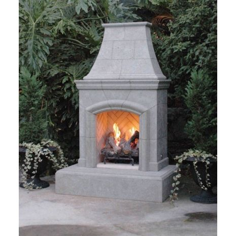 This Little Chica Outdoor Gas Fireplace By American Fyre Designs