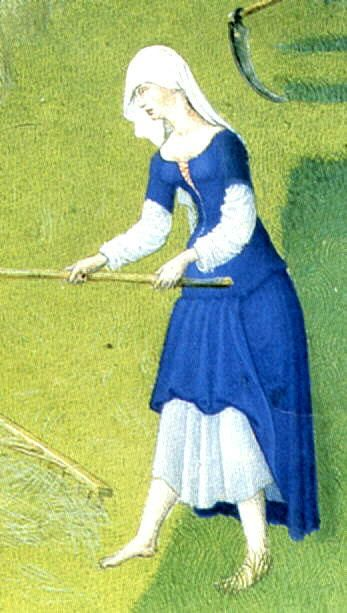 Les Tres Riches Heures du Jean, Duc de Berry, created in 1416: