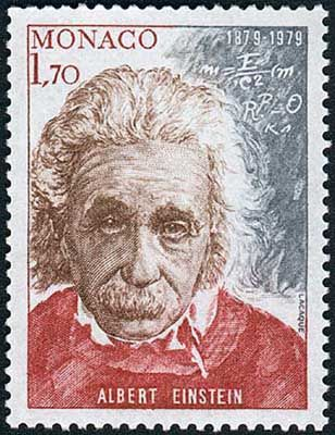 """Albert Einstein: (14 March 1879 – 18 April 1955) was a German-born theoretical physicist who developed the general theory of relativity. While best known for his mass–energy equivalence formula E = mc2 (which has been dubbed """"the world's most famous equation""""), he received the 1921 Nobel Prize in Physics """" for his services to theoretical physics, and especially for his discovery of the law of the photoelectric effect"""".The latter was pivotal in establishing quantum theory."""