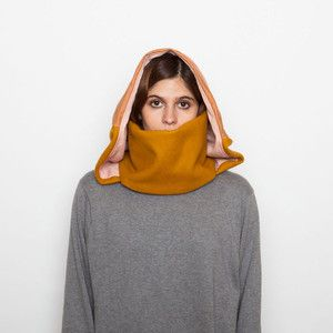 Copenhagen Hooded Scarf, $46, now featured on Fab.