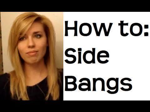 Next haircut: definitely side-swept bangs!