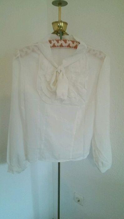 True vintage bluse schleife blogger schluppe Marlene Trend hipster weiß schleife - kleiderkreisel.at
