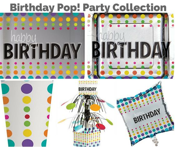 Birthday Pop Party Collection