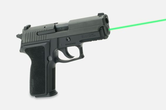 11 More Awesome New Guns, Gear, and Ammo Products from SHOT 2016, The new green guide rod laser mounted in a Sig Sauer P229.