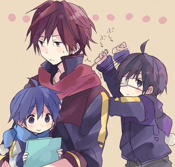 Vocaloids - Akaito, Kaito, & Taito - Taito's so cute ...