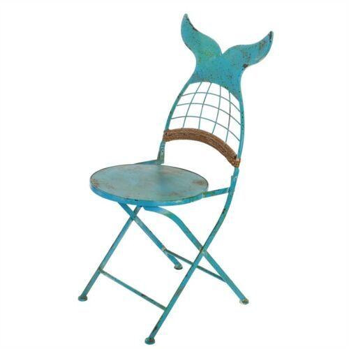 Strange Mermaid Tail Metal Folding Chair Nautical Whats New In Onthecornerstone Fun Painted Chair Ideas Images Onthecornerstoneorg