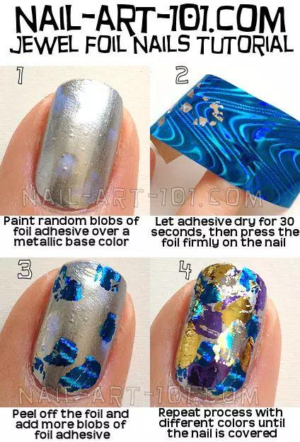 Nail Art Foil Tutorial