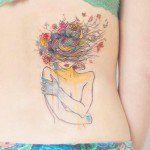 Selecionamos 100 exemplos de tatuagens que utilizam a técnica de aquarela (Watercolor Tattoo)