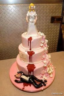 Divorces....Fellas, Keep Your Wives...  haven't seen anything quite like this before. Don't associate cakes with that