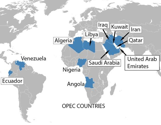 a history of the organization of petroleum exporting countries Founded in september 1960and based in vienna (austria), opec is in charge of  co-ordinating and unifying the petroleum-related policies of its members, with.
