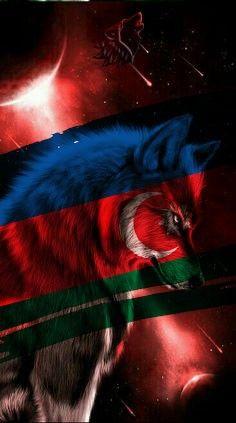 Bozqurd Azərbaycan Bozqurd Dizayn Azərbaycan Turkcu Azərbaycan Azerbaijan Flag Turkey Flag Flag Drawing