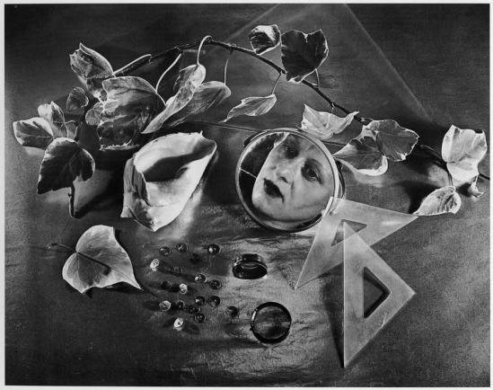 Grete Stern (1904-1999)- Composition, self-portrait , 1943  | La Petite Mélancolie